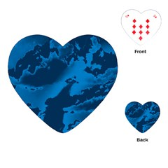 Sky Playing Cards (heart)