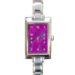 Sky Rectangle Italian Charm Watch by ValentinaDesign