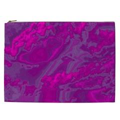 Sky Cosmetic Bag (xxl)  by ValentinaDesign