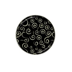 Pattern Hat Clip Ball Marker (10 Pack) by ValentinaDesign