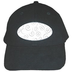 Pattern Black Cap