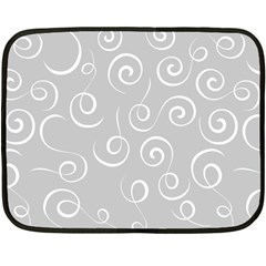 Pattern Double Sided Fleece Blanket (mini)  by ValentinaDesign