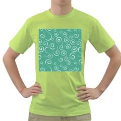 Pattern Green T Shirt