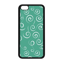 Pattern Apple Iphone 5c Seamless Case (black) by ValentinaDesign