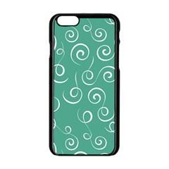 Pattern Apple Iphone 6/6s Black Enamel Case by ValentinaDesign