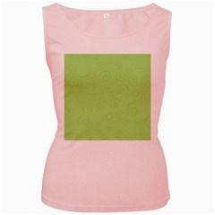 Pattern Women s Pink Tank Top