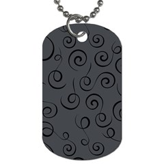 Pattern Dog Tag (one Side) by ValentinaDesign