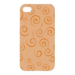 Pattern Apple Iphone 4/4s Hardshell Case by ValentinaDesign