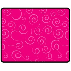 Pattern Fleece Blanket (medium)  by ValentinaDesign