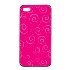 Pattern Apple Iphone 4/4s Seamless Case (black) by ValentinaDesign