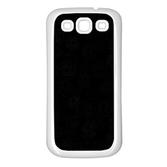 Pattern Samsung Galaxy S3 Back Case (white) by ValentinaDesign