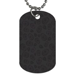 Floral Pattern Dog Tag (one Side) by ValentinaDesign