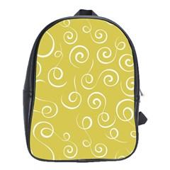 Floral Pattern School Bags (xl)