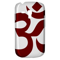 Hindu Om Symbol (dark Red) Galaxy S3 Mini by abbeyz71