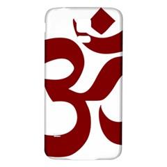 Hindu Om Symbol (dark Red) Samsung Galaxy S5 Back Case (white) by abbeyz71