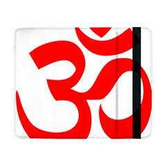 Hindu Om Symbol (red) Samsung Galaxy Tab Pro 8 4  Flip Case by abbeyz71