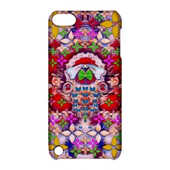 Hawaiian Poi Cartoon Dog Apple Ipod Touch 5 Hardshell Case With Stand by pepitasart
