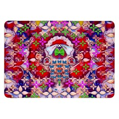 Hawaiian Poi Cartoon Dog Samsung Galaxy Tab 8 9  P7300 Flip Case by pepitasart