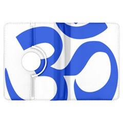 Hindu Om Symbol (royal Blue) Kindle Fire Hdx Flip 360 Case by abbeyz71