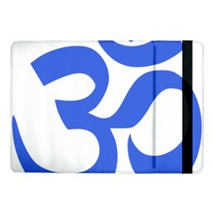 Hindu Om Symbol (royal Blue) Samsung Galaxy Tab Pro 10 1  Flip Case by abbeyz71