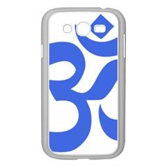 Hindu Om Symbol (royal Blue) Samsung Galaxy Grand Duos I9082 Case (white) by abbeyz71