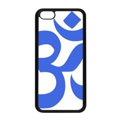 Hindu Om Symbol (royal Blue) Apple Iphone 5c Seamless Case (black) by abbeyz71
