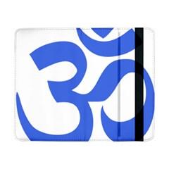 Hindu Om Symbol (royal Blue) Samsung Galaxy Tab Pro 8 4  Flip Case by abbeyz71