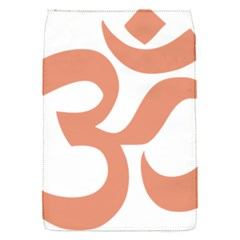 Hindu Om Symbol (salmon) Flap Covers (s)  by abbeyz71