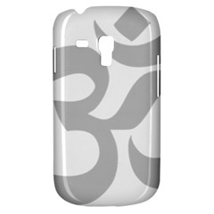 Hindu Om Symbol (gray) Galaxy S3 Mini by abbeyz71