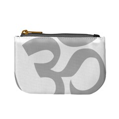 Hindu Om Symbol (gray) Mini Coin Purses by abbeyz71