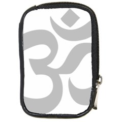 Hindu Om Symbol (gray) Compact Camera Cases by abbeyz71