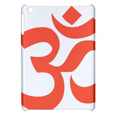 Hindu Om Symbol (peach) Apple Ipad Mini Hardshell Case by abbeyz71