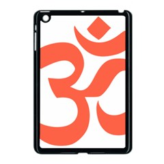 Hindu Om Symbol (peach) Apple Ipad Mini Case (black) by abbeyz71