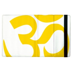 Hindu Om Symbol (yellow) Apple Ipad 3/4 Flip Case by abbeyz71