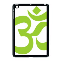 Hindu Om Symbol (lime Green) Apple Ipad Mini Case (black) by abbeyz71