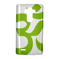 Hindu Om Symbol (lime Green) Lg G4 Hardshell Case by abbeyz71