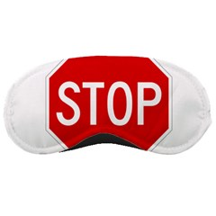 Stop Sign Sleeping Masks by Valentinaart