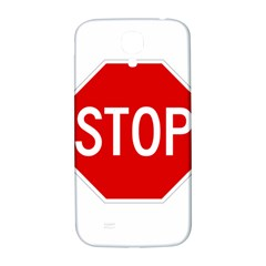 Stop Sign Samsung Galaxy S4 I9500/i9505  Hardshell Back Case by Valentinaart