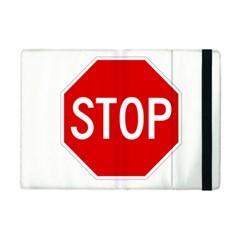 Stop Sign Ipad Mini 2 Flip Cases by Valentinaart