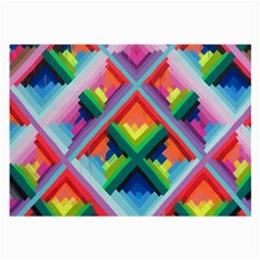 Rainbow Chem Trails Large Glasses Cloth (2 Side)