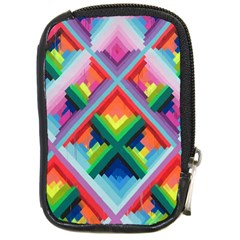 Rainbow Chem Trails Compact Camera Cases by Nexatart