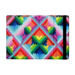 Rainbow Chem Trails Apple Ipad Mini Flip Case