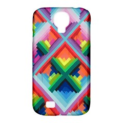 Rainbow Chem Trails Samsung Galaxy S4 Classic Hardshell Case (pc+silicone)