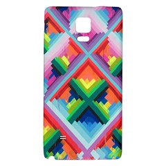 Rainbow Chem Trails Galaxy Note 4 Back Case