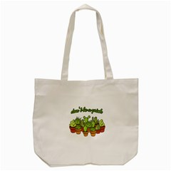 Cactus   Dont Be A Prick Tote Bag (cream) by Valentinaart