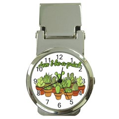 Cactus   Dont Be A Prick Money Clip Watches by Valentinaart