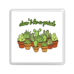 Cactus   Dont Be A Prick Memory Card Reader (square)  by Valentinaart