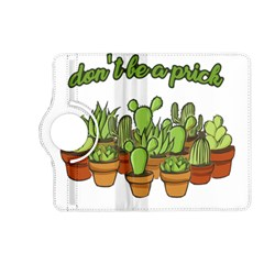 Cactus   Dont Be A Prick Kindle Fire Hd (2013) Flip 360 Case by Valentinaart