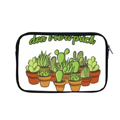 Cactus   Dont Be A Prick Apple Macbook Pro 13  Zipper Case by Valentinaart