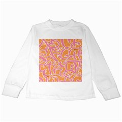 Abc Graffiti Kids Long Sleeve T Shirts by Nexatart